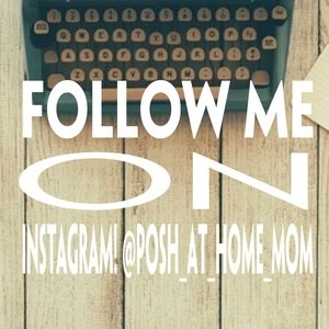 Follow me on Instagram! @posh_at_home_mom